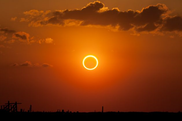 Annular Solar Eclipse 2017