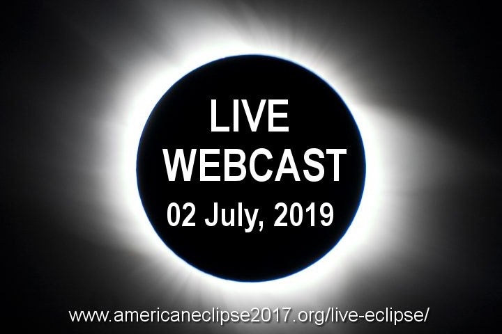 Live Eclipse - 02 July, 2019